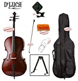 D'Luca MC100-4/4 Meister Student Cello 4/4 Package