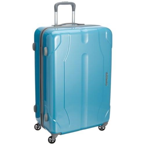 [ワールドトラベラー] World Traveler プレオン キャスターストッパー付 スーツケース 70cm・85リットル・4.5kg・ACE製 05908 15 (ライトブルーカーボン)