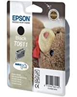 Epson T0611 Cartouche d'encre d'origine DURABrite Ultra noire pour D68 D88 D88PE DX3850 4250 4850