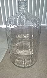 3 X 5 Gallon Glass Carboy For Beer or Wine Making