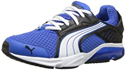 PUMA Powertech Blaze M Junior Training Shoe (Big Kid) ,Puma Royal/Black/White,5 M US Big Kid