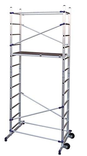 Aluminium-Arbeitsgerst-Mod-Flosse-Clic-Arbeitshhe-436-MT