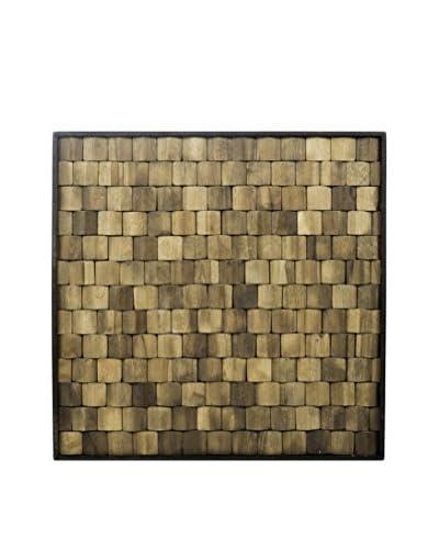 My Spirit Garden Evocative Matrix Earth Plank, Antique Brown