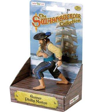 Safari Ltd. Human Figures - Pirates - PHILLIP MORTON (3.5 inch)
