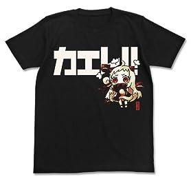 艦隊これくしょん -艦これ- ほっぽちゃんTシャツ ブラック サイズ:L