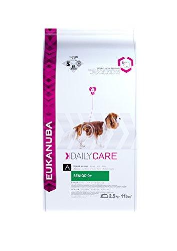 Artikelbild: Eukanuba Daily Care Senior 9+ Trockenfutter (für ältere Hunde ab 9 Jahre, Spezial-Premiumfutter für jede Rasse mit Huhn), 2,5 kg Beutel
