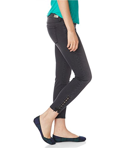 Aeropostale Womens Laced Ankle Jeggings 035 6x26
