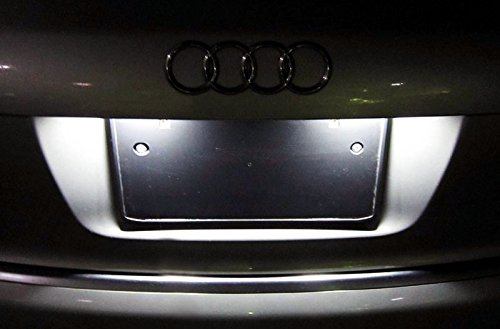 ijdmtoy oem replacement xenon white led license plate. Black Bedroom Furniture Sets. Home Design Ideas