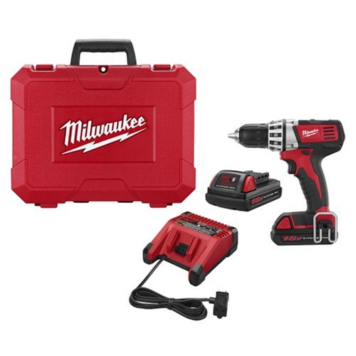 Factory-Reconditioned Milwaukee 2601-82 18-Volt Li-Ion Compact Drill Kit