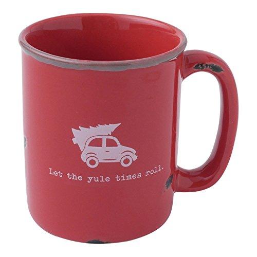 Hallmark Home Holiday Mug, Red