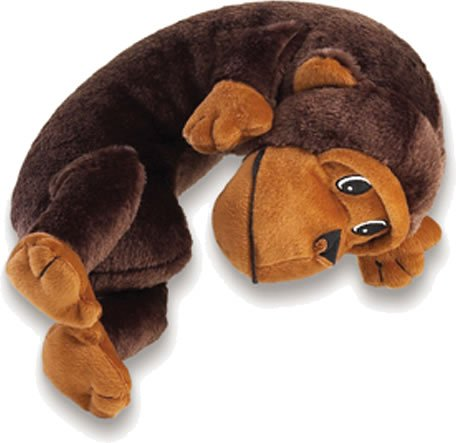 More image Lewis N. Clark Lil Lewis Kids Travel Pillow-(available in 15 Animals - As Shown