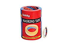 Oddy 12mm Super Strong Self Adhesive Masking Tape-20 Mtrs. (Set of 2)