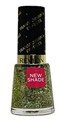 Revlon Transforming Effect Nail Enamel Top Coat, Golden Confetti, 8ml