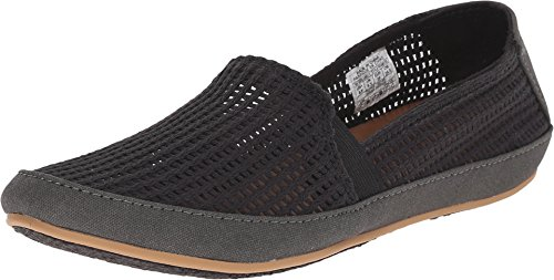 Reef Women's Shaded Summer TX Fashion Sneaker, Black Mesh, 8 M US