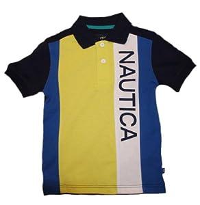 Nautica Boys 8-20 Pieced Pique Polo Shirt by Nautica