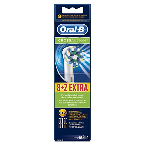 Braun Oral-B Cross Action Replacement Toothbrush Heads