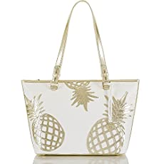 Medium Asher Tote<br>Gold Del Pina