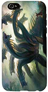 Snoogg Multi Head Dragons Case Cover For Apple Iphone 6+
