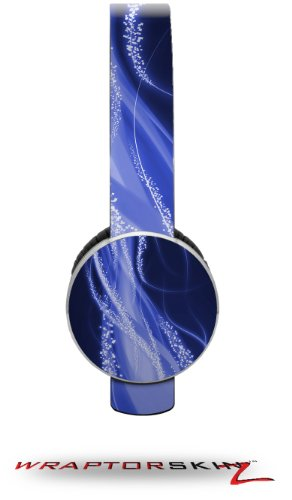Mystic Vortex Blue Decal Style Skin (Fits Sol Republic Tracks Headphones - Headphones Not Included)