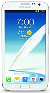 Samsung Galaxy Note II 4G Android Phone, White (Sprint)