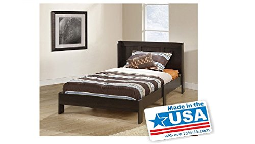 Sauder Parklane Twin Platform Bed For Relaxed Sleeping With