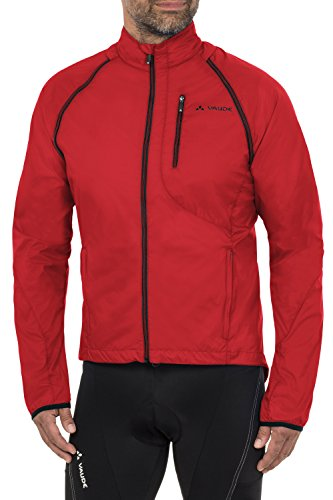 VAUDE Herren Jacke Windoo Jacket, Red, M, 04412