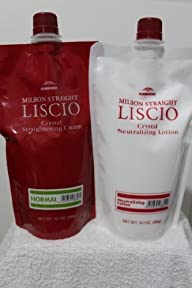 LISCIO Crystal Cream Straighteners & Neutralizer – Normal