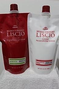 LISCIO Crystal Cream Straighteners & Neutralizer – Normal