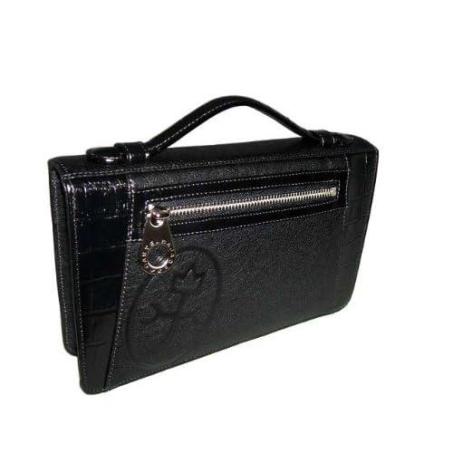 [カステルバジャック] castelbajac コングル セカンドバッグ 黒 セカンドバッグ パスポートサイズ 054201