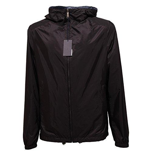 1299Q giubbotto double face PRADA nero/azzurro giubbotto uomo jacket men [52]