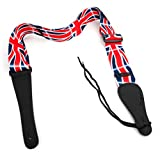 Bray's Terylene Union Jack Strap For Guitar Hero & Rock Band Guitars On PS3, PS2, Xbox 360 & Wii (Compatible With The New Guitar Hero: Warriors of Rock, 6, 5, 4, 3, 2 & 1)