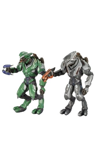 McFarlane Toys Halo Reach Series 3 Covenant Rangers - Elite Officer And Elite Ultra 2 Pack