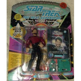 Star Trek - Next Generation (Playmates) Commander William T. Riker Series 2 Action Figure