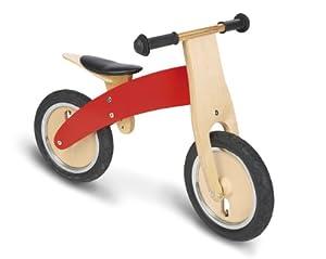 Pinolino 239449 - Bicicleta de madera para niños, color