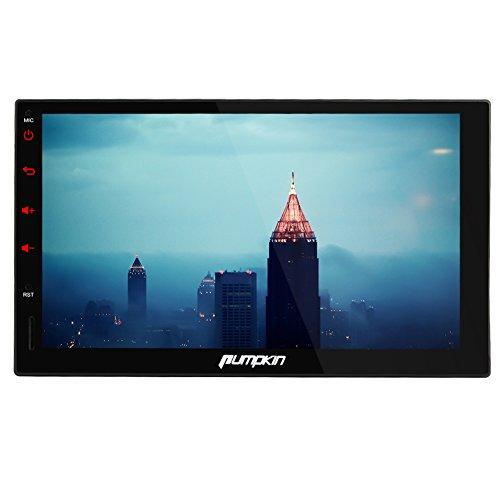 Pumpkin 18ヶ月保証7インチ Android 4.4 クアッドコア 1.6GHz タッチパネル ナビ カーオーディオ GPS 1024x600 Wifi OBD2対応 (RQ0276E)