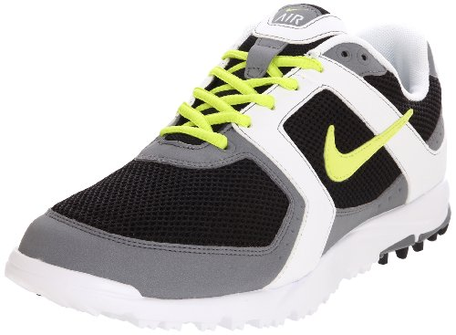 Nike Golf Men's Nike Air Range WP Golf Shoe,Black/Cyber/White,13 M US
