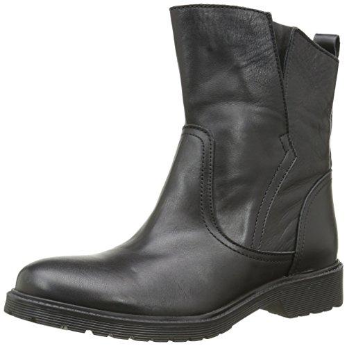Buffalo 8036 Antique, Stivali da Motociclista Donna, Nero (Black 01), 37 EU