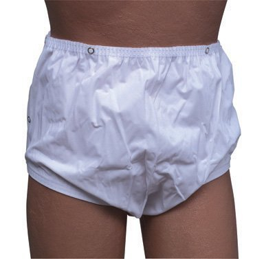 "Incontinent Pant With Snap Closures - Small - 22"" To 28"" Waist - Each front-1016001"