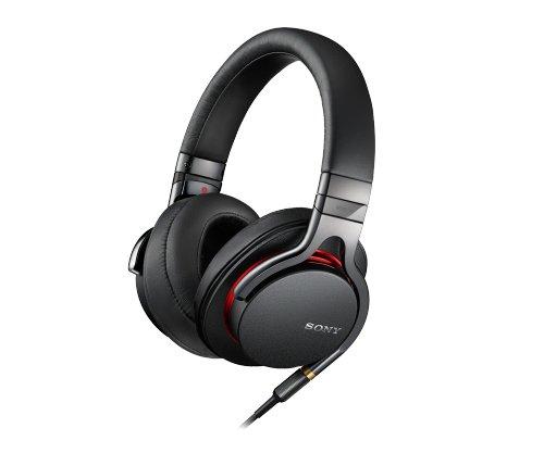 SONY 密閉型ヘッドホン ハイレゾ音源対応 リモコン・マイク付 ブラック MDR-1A/B