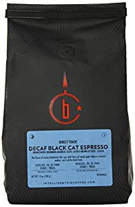 Intelligentsia Black Cat Blend Decaf, Water-Processed, Drip Grind Espresso,12-Ounce
