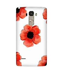 Red Flower LG G4 Stylus Case