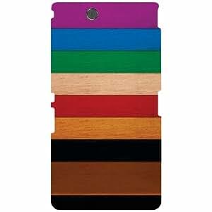 Sony Xperia Z Ultra C6802 Back Cover - Color Pattern Designer Cases
