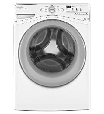 Whirlpool WFW80HEBW Duet 4.1 Cu. Ft. White Front Load Washer - Energy Star