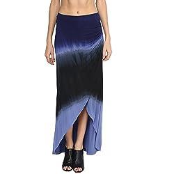 Grain Women's Cotton Poly Lycra Tie Dye Skirt