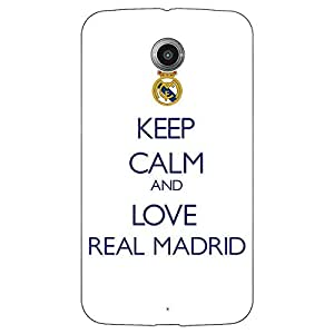 Jugaaduu Real Madrid Back Cover Case For Google Nexus 6