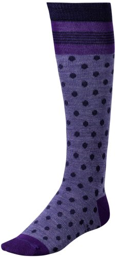 Smartwool Kids Oui Mademoiselle, Grape size S