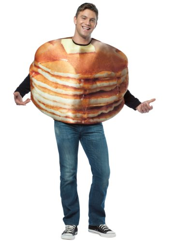 Get Real Stacked Pancakes Costume