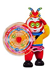 Sunshine Battery Operated Kung-Fu Warrior with 3D lights and Bump and Go Action