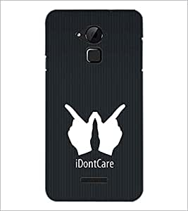 PrintDhaba Quote D-2403 Back Case Cover for COOLPAD NOTE 3 LITE (Multi-Coloured)