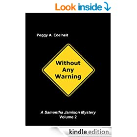 Without Any Warning (Samantha Jamison Mystery series Book 2)